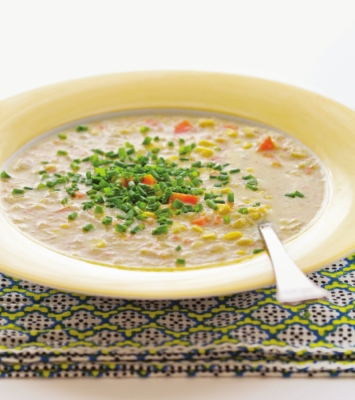 Optimized-Veggie Corn Chowder photo
